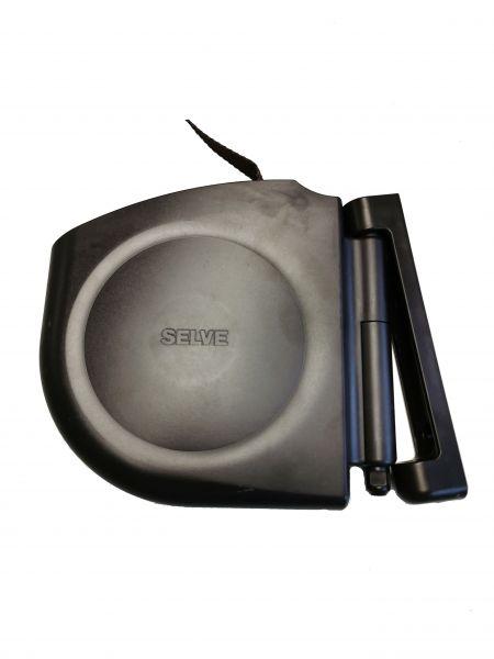 SELVE Gurtwickler Aufputz/Aufschraubwickler schwenkbar mit 15mm Gurt braun