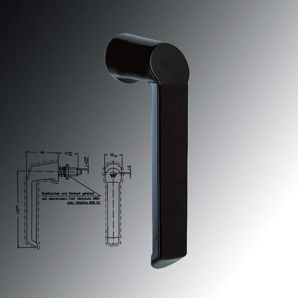 Schüco Fenstergriff (Steckgriff)