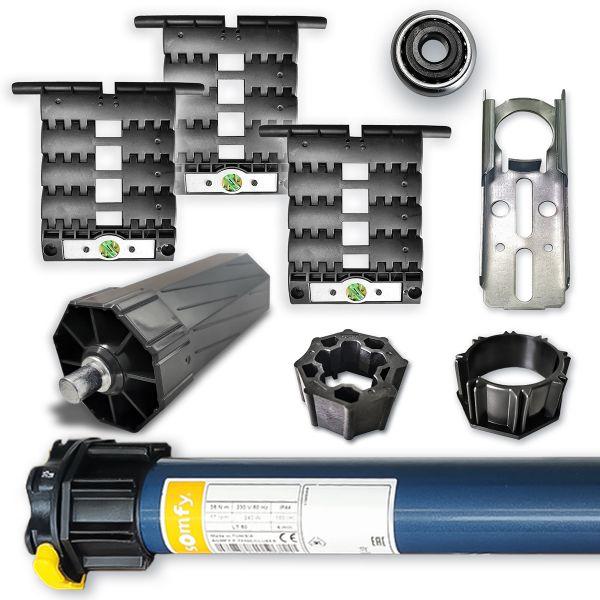Somfy Nachrüstset zum Modernisieren von Rollladen zum Motorbetrieb Vorteilspaket