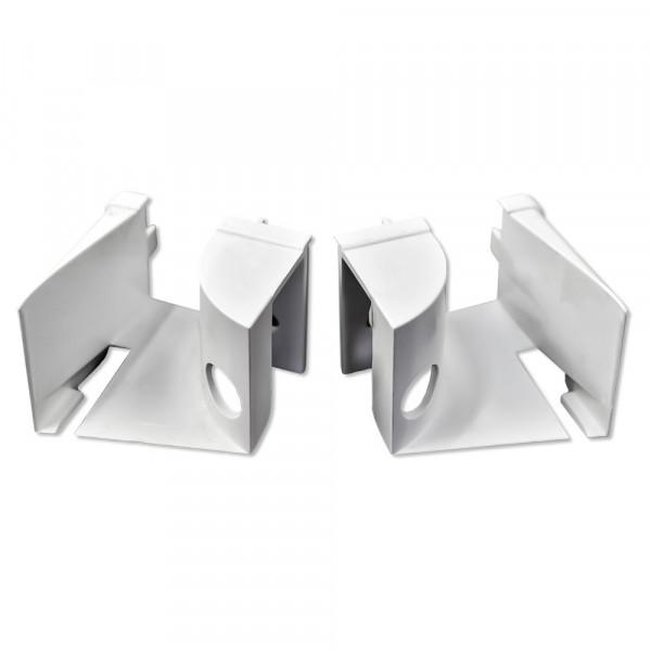 Einlauftrichter ohne Ausnehmung, Weiß| 10 Paar | RF 8287/8289