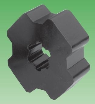 Selve Kupplungs-Adapter für Selve-Rollladenmotoren, für Achtkantwellen SW 50