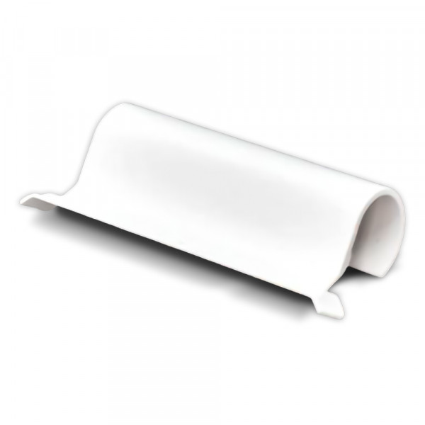 Abdeckkappe Axerlager, verstellbar Weiss| 10 Stück