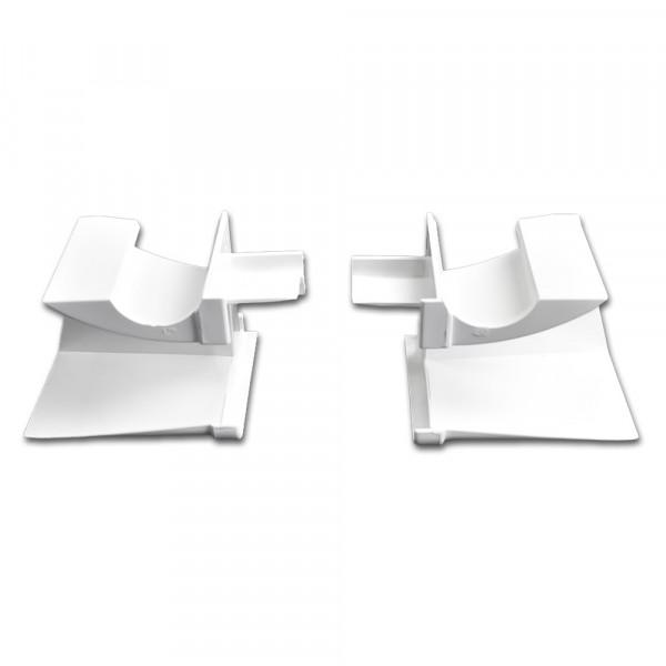 Einlauftrichter mit Ausnehmung, Weiß| 10 Paar | RF 8294