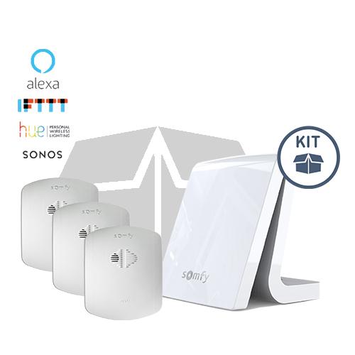 Somfy Aktionspaket Smarter Rauchalarm