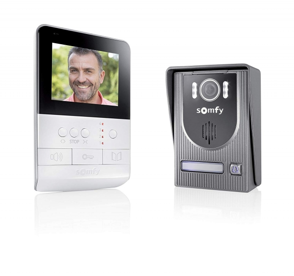 Somfy® Videotürsprechanlage V100 inkl. Display, Gegensprechanlage