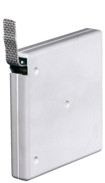 Selve Mini-Gurtwickler, aufschraubbar, 21 mm breit, für 15 mm Gurt