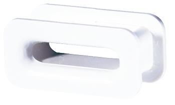 Selve Mini-Gurtführung aus Kunststoff, bis 15 mm Gurt