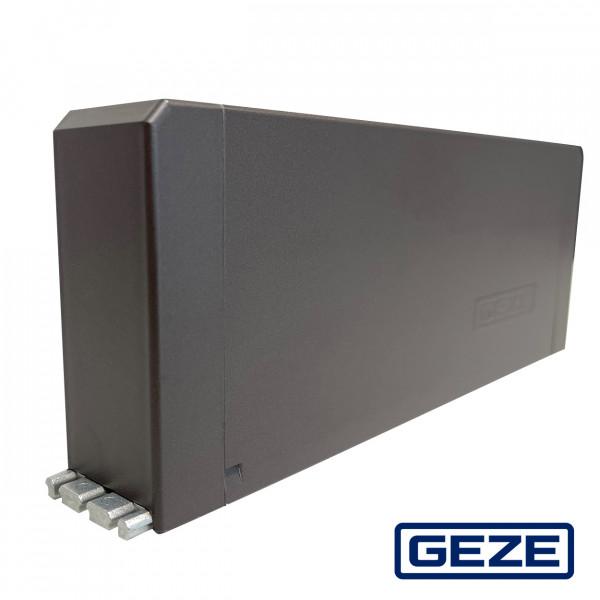 Automatisierter Elektrolinearantrieb Dunkelbronze / Braun (Flachform + Oberlichtöffner)