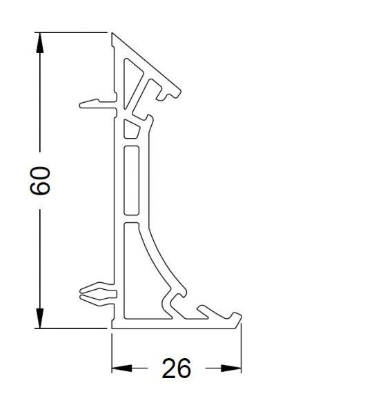 KS-Variable Eckkopplung | VE = 2,65m