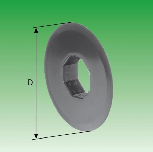 Selve Mini-Begrenzungsscheibe für Stahlwelle SW 40