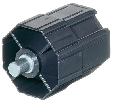 Selve Walzenkapsel kurz mit Stahl-Achsstift ø 12 mm für Stahlwelle SW 60