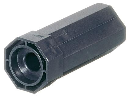 Selve Walzenkapsel Mini, lang, für Gleit- oder Kugellager ø 28 mm, für Stahlwelle SW 40