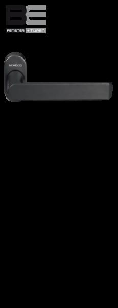 Haustürdrücker 240153 schwarz