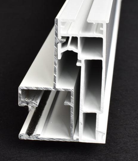 KS-Rollladenführung Kunststoff 74/54   VE = 2,65m