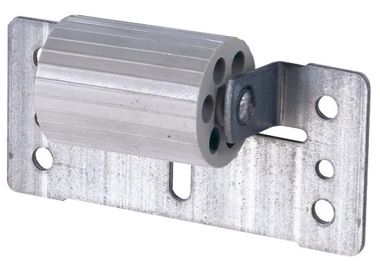 Abdruckrolle - groß - mit verzinkter Stahlanschraubplatte