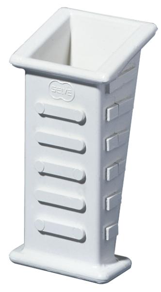 Selve Gurtführung zum Einputzen, aus Kunststoff, bis 23 mm Gurt