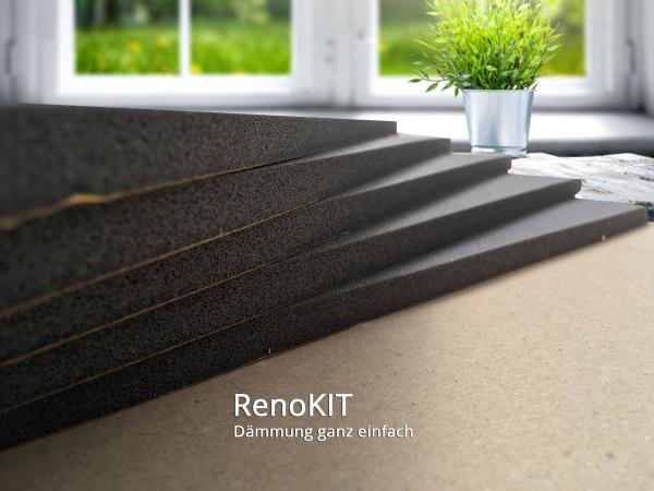 Schweiker® RenoKIT für Dämmung und Renovierung alter Rollladenkästen