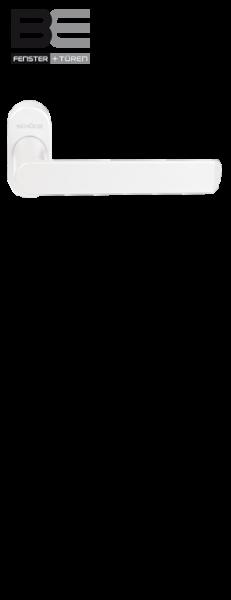 Haustürdrücker 240155 Verkehrsweiß RAL 9016