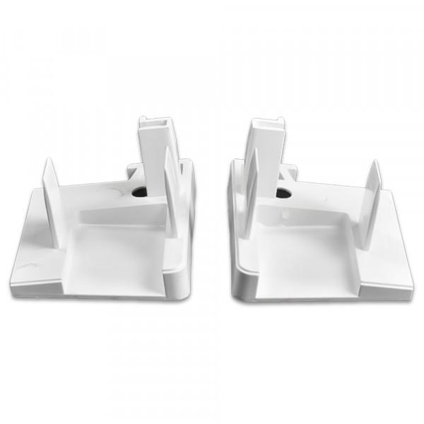 Endkappe, Weiß  10 Paar   RF 8294