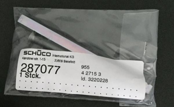 Schüco Befestigungsset CT 70 Nebeneingangstürgriff Halbgarnitur Kurzhals