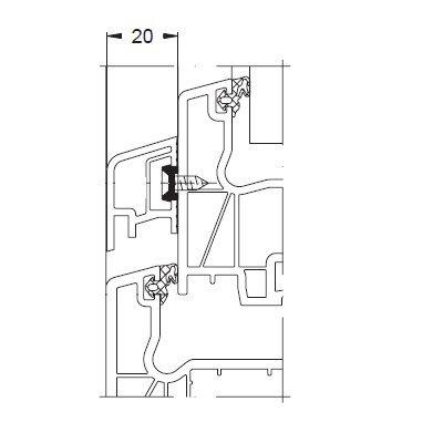 KS-Wetterschenkel 19,5/32 | VE = 2,65m