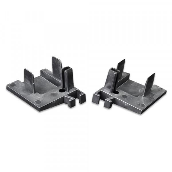Endkappe, Schwarz  10 Paar   RF 8294