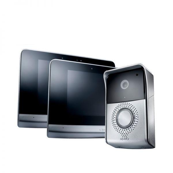 Somfy Video-Türsprechanlage V500 inkl. 2 Touchscreen-Displays